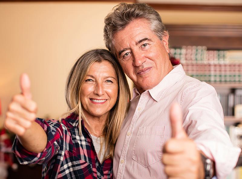 casal implante com carga imediata